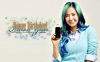 Happy Birthday Kwon Yuri SNSD