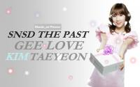 SNSD The Past 3 - Gee Love Taeyeon