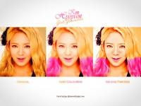 Hyoyeon Hir colouring & Smudge Painting