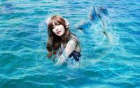 "Sooyoung ""I'm a mermaid"""