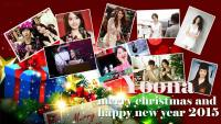 Yoona merry christmas and happy new year 2015