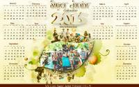 Super Junior Calendar 2015