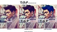 TOP BigBang SmudgePainting Hair Colouring.