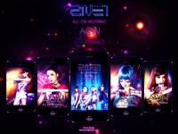 2NE1 AON iPhone 5 ver.2