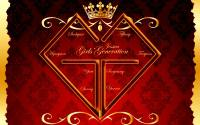 SNSD Logo Red Royal ver.