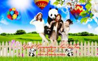 SNSD Love Animal Ep.1 | Love With Panda
