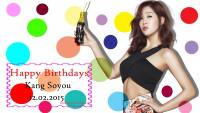 Kang Soyou | Happy Birthdays 2015