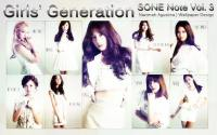 "SNSD Sone Note Vol.3 ""Simple Ver."""
