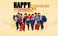 HAPPY 5TH ANNIVERSARY!! INFINITE ♥