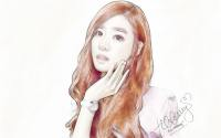 Tiffany | Lady Girl In Paper