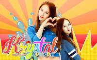 "Krystal Jung ""Holiday"" Wallpaper"
