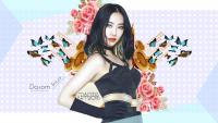 Sistar | Dasom Black in Colorful