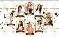 2016 Girls Generation Calendar