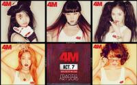 "4Minute | 7th mini album ""4M"" Color Version"