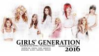 GIRLS' GENERATION 2016 SEASON GREETING