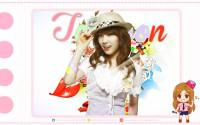 SNSD | Taeyeon abstract cute