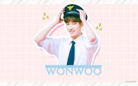 WONWOO | cute rapper