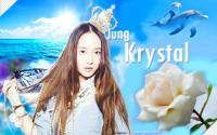 Krystal Jung in her Blue Nature ♥.