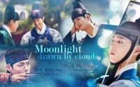 Moonlights drawn by clouds