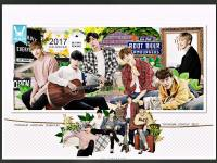 B.A.P :: 2017 SEASON'S GREETINGS