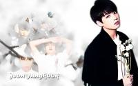 Jungkook White Flower