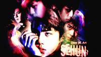 Sehun Dark-Light Wallpaper