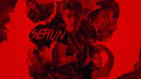 SEHUN IN RED LIGHTS
