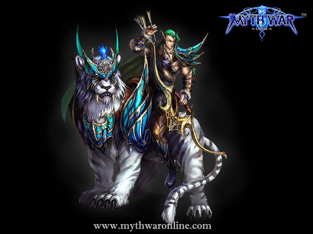 Myth war online wallpaper